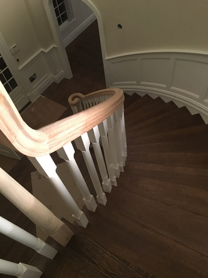 Circular Stair with railing