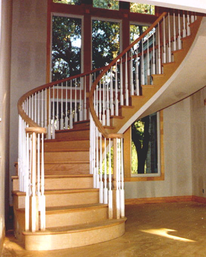Free Standing Circular with railing
